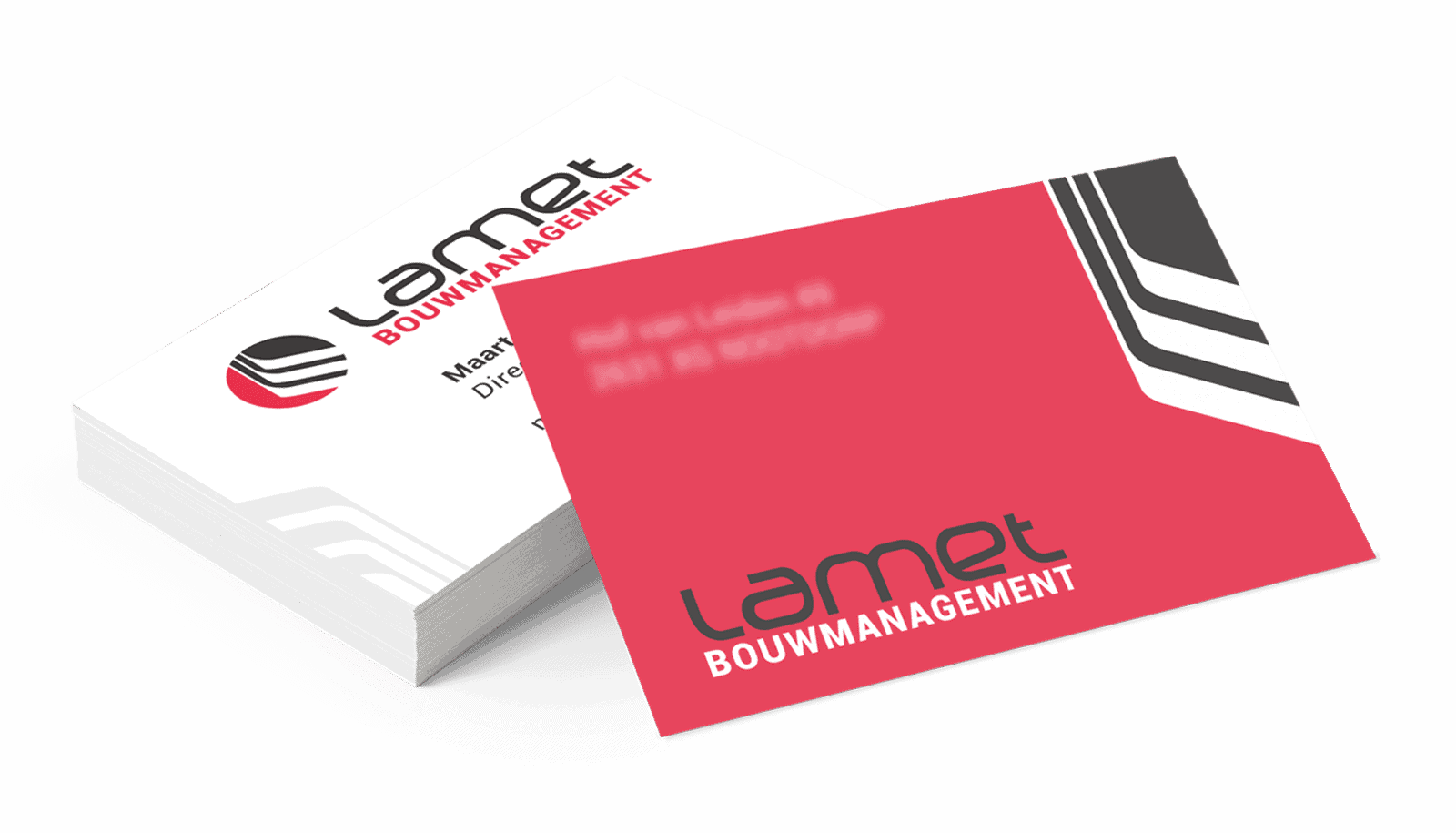 Business Cards Design for Lamet, as part of a total Corporate Identity Design
