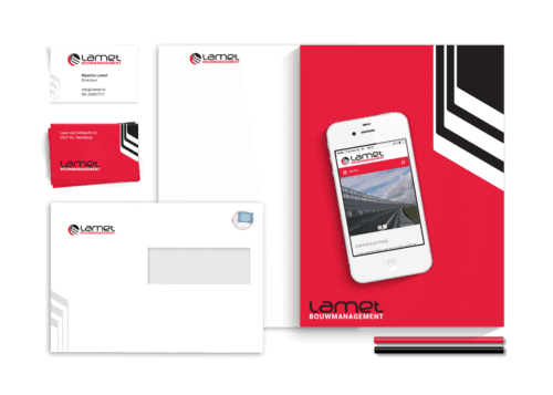 Corporate Identity design and a responsive WordPress theme