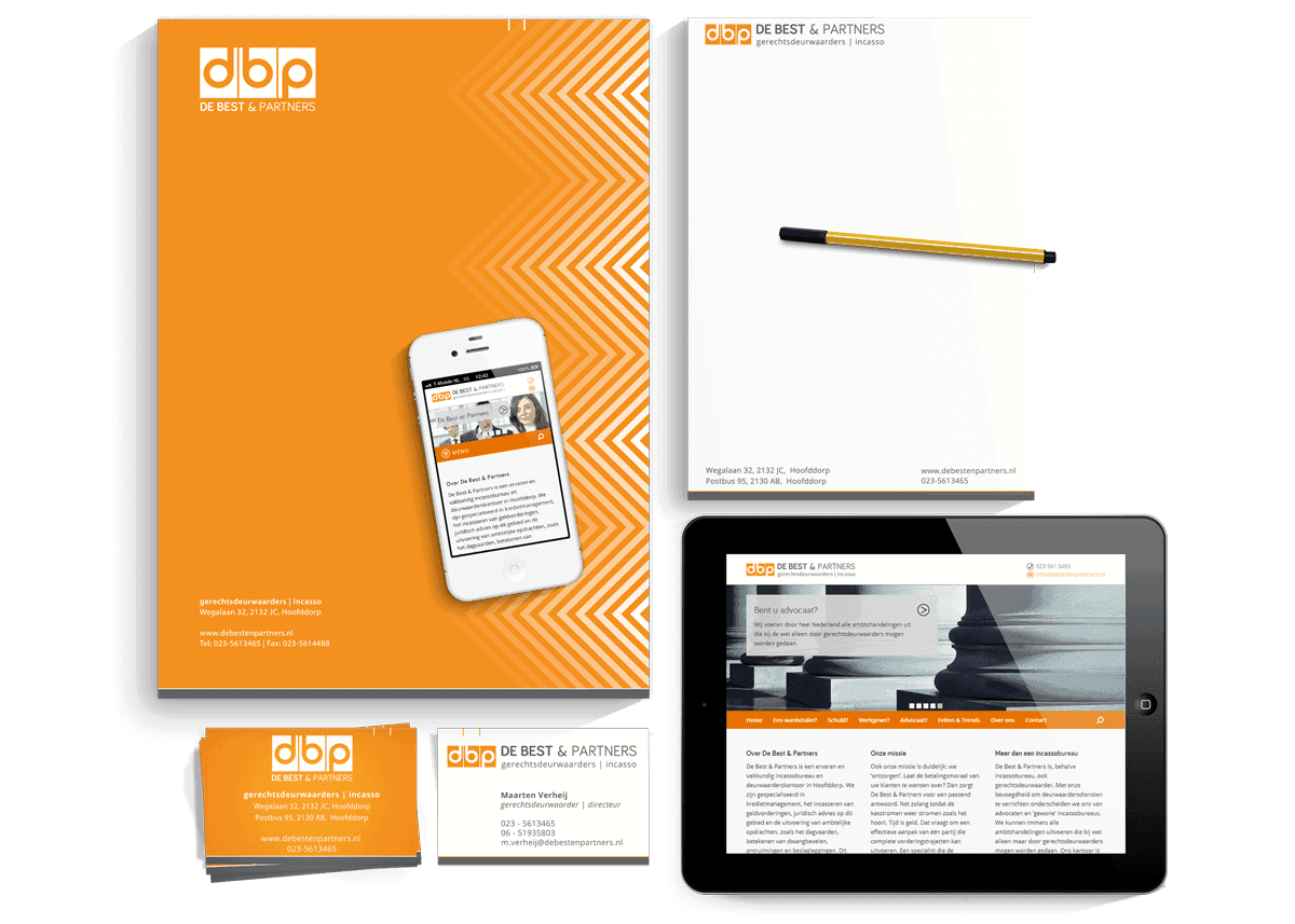 Logo, Stationery and Responsive WordPress Theme